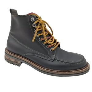Tommy Hilfiger Hinsdale Black Leather Boots